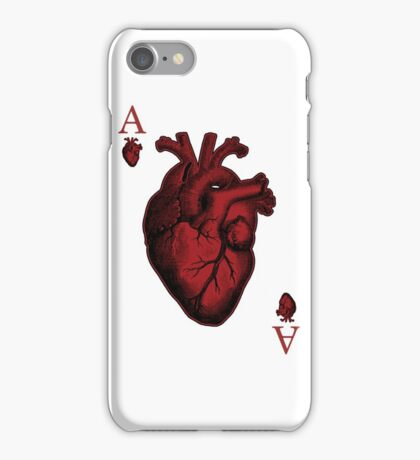 Ace of Hearts iPhone Case/Skin