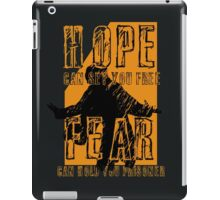 """Hope can set you free"" iPad Case/Skin"