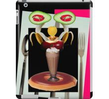 Dessert is servant by Darryl Kravitz iPad Case/Skin