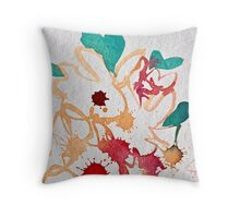 Garden of Color and Light Throw Pillow