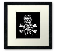 Jolly Mummy Framed Print