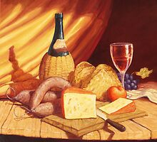 Salame e Formaggio by Cary McAulay