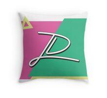 JD 80's Throw Pillow