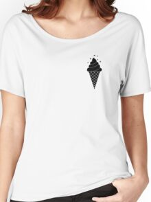 Ice cream with flies Women's Relaxed Fit T-Shirt