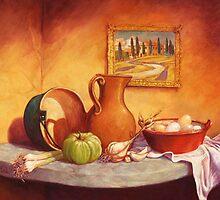 Da Toscano Fattoria by Cary McAulay