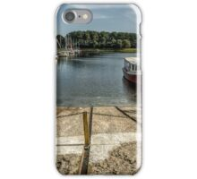 Boats at the shore iPhone Case/Skin
