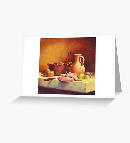 Zuppa di pesce Greeting Card