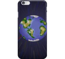 Connor and the Gobiworm - Racing Back to Earth on Clouds! iPhone Case/Skin