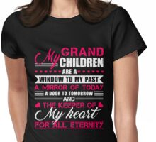 My Grandchildren T-shirt Womens Fitted T-Shirt