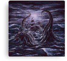 Mythology - Kraken Canvas Print
