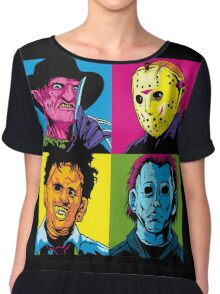 POP HORROR Chiffon Top