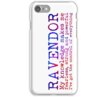 Ravendor Quote NEW iPhone Case/Skin