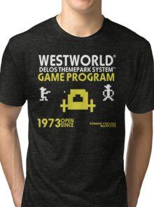 Outlaw Westworld Tri-blend T-Shirt