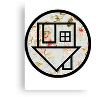 The Neighbourhood (Floral Background) Canvas Print