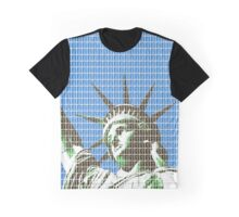 Liberty - Blue Graphic T-Shirt