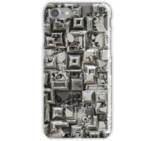 Abstract Geometric Skulls Collage iPhone Case/Skin