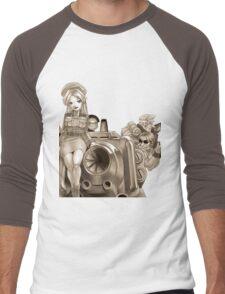 Old Metal Men's Baseball ¾ T-Shirt