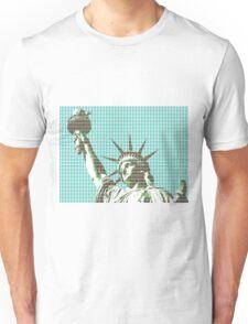 Liberty - Light Blue Unisex T-Shirt