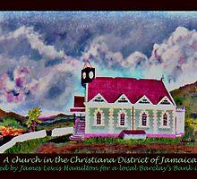 Jamaica 1969 painting * by James Lewis Hamilton