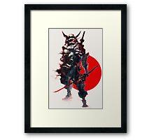 Samurai IV Bishamon Framed Print