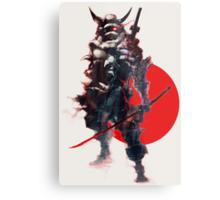 Samurai IV Bishamon Metal Print