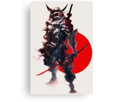 Samurai IV Bishamon Canvas Print