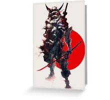 Samurai IV Bishamon Greeting Card