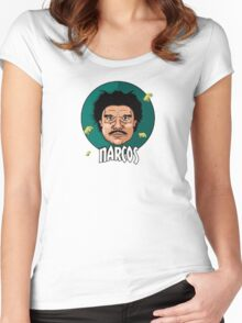 NARCOS | 2016 Women's Fitted Scoop T-Shirt