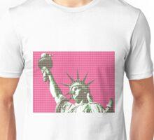 Liberty - Pink Unisex T-Shirt