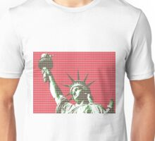 Liberty - Red Unisex T-Shirt