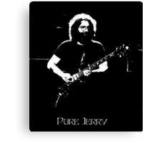"Jerry Garcia- ""Pure Jerry"" Grateful Dead 1978 Canvas Print"