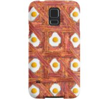 Bacon And Eggs For Breakfast Samsung Galaxy Case/Skin