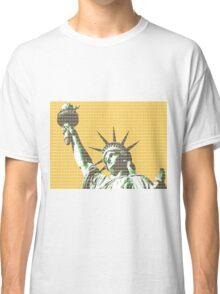 Liberty - Yellow Classic T-Shirt