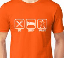 Eat Sleep Karate Unisex T-Shirt