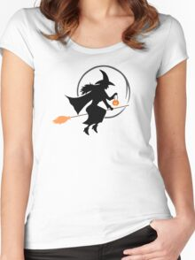 Colour Me Witch Women's Fitted Scoop T-Shirt