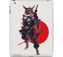 Samurai IV Bishamon iPad Case/Skin