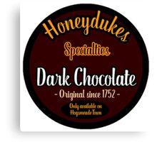 Honeydukes Chocolate - Dark!Version Canvas Print