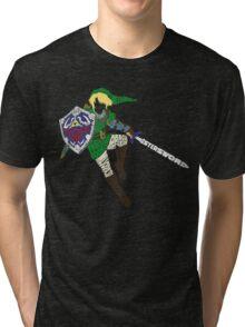 Link Typography Tri-blend T-Shirt