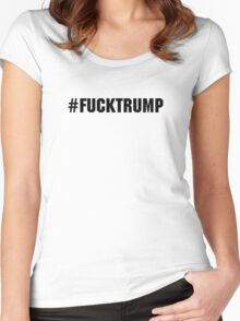 #F*ck Trump | 2016 Women's Fitted Scoop T-Shirt