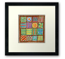 Colorful Petit Fours Framed Print