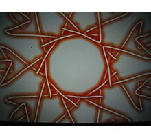 Abstract spiders web Photographic Print