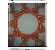 Abstract spiders web iPad Case/Skin