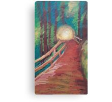 Oil Bridge Canvas Print