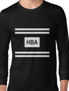 HBA HOOD BY AIR - 2016 New Fashion T-shirt Kpop Long Sleeve T-Shirt