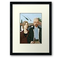 Albequerque Gothic Framed Print