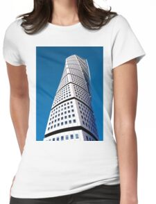 Turning Torso Malmo Womens Fitted T-Shirt