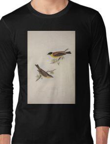 John Gould The Birds of Europe 1837 V1 V5 172 Black Headed Bunting Long Sleeve T-Shirt