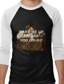 Sleeping Wham! Men's Baseball ¾ T-Shirt