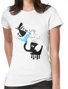 Greatest love Womens Fitted T-Shirt