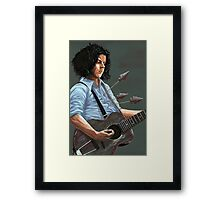 Blue Blood Blues Framed Print